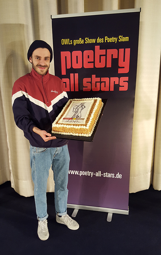 Jean-Philippe Kindler, Gewinner der Poetry All Stars 23